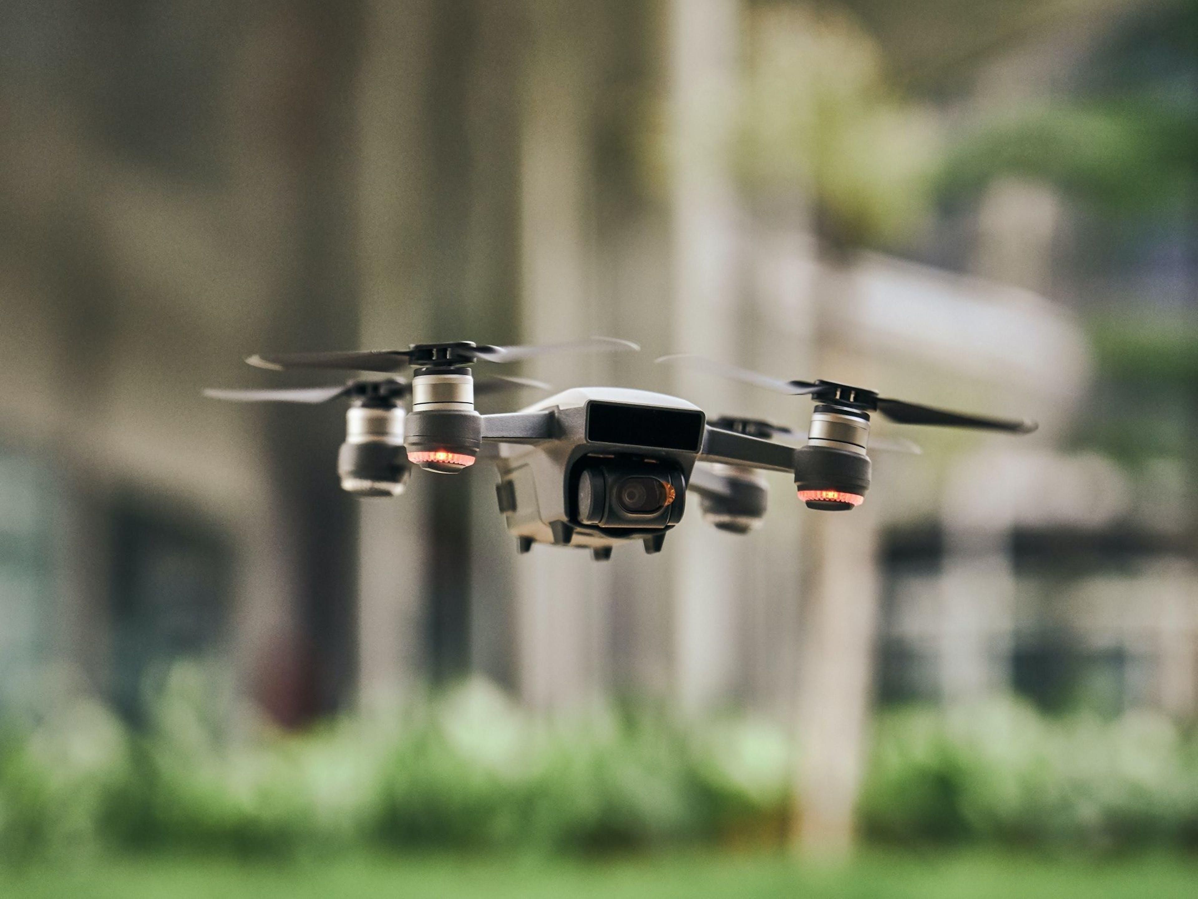 Drones flying Switzerland