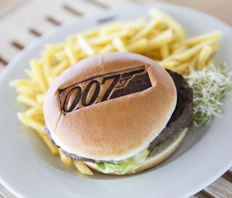 Burger Menu James Bond