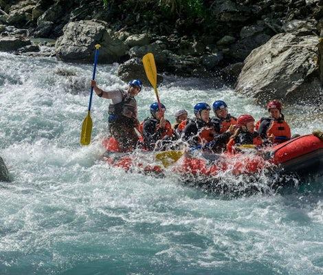 Rafting in Engadina