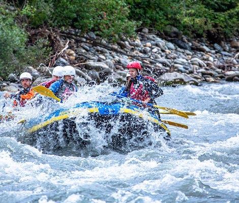 Rafting Rheinschlucht