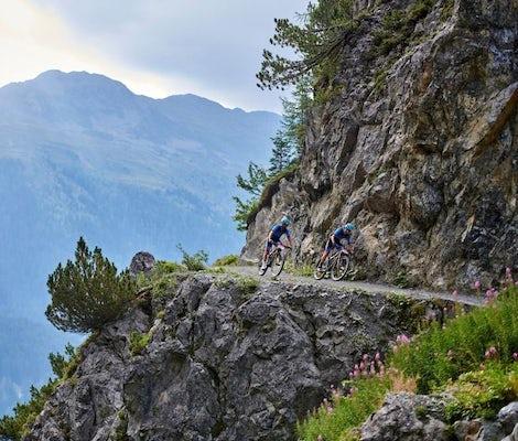 Bike Tour Singletrail Davos