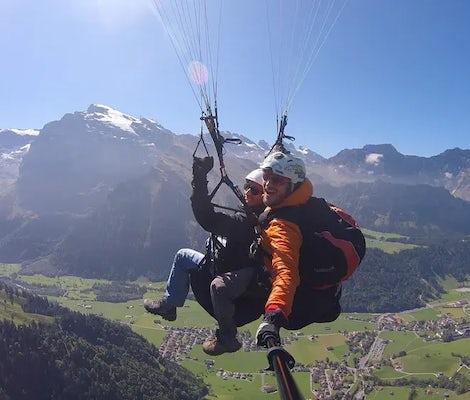 Aussicht Paragliding Engelberg Titlis