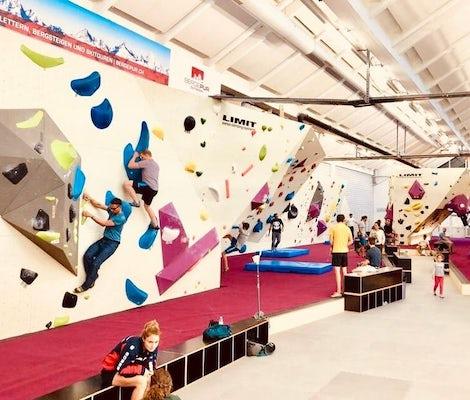 Freiruum Boulder Area Indoor