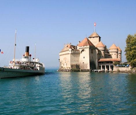 Chateau Chillon Lake Geneva