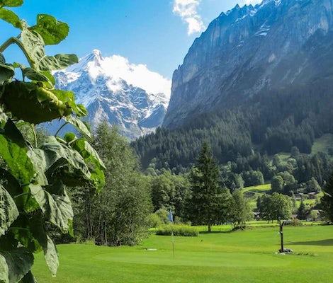 Terrain de golf Grindelwald Mettenberg Wetterhorn