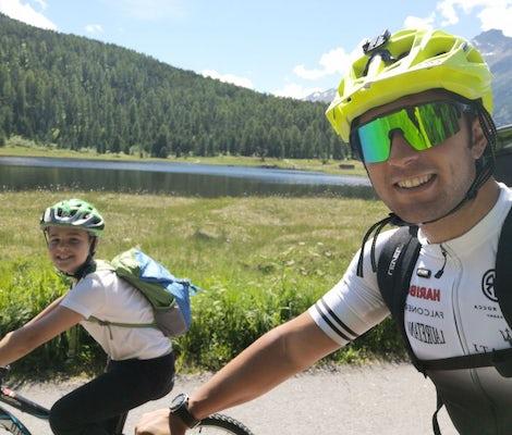 Tour de l'Engadine en E-Bike