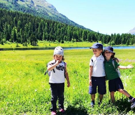 Camp d'été pour enfants à St. Moritz