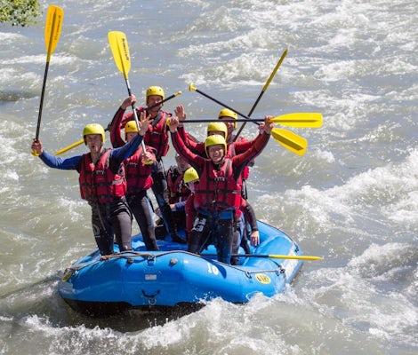 Rafting sul fiume Rodano