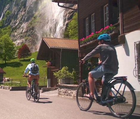 Visite en E-bike de Lauterbrunnen