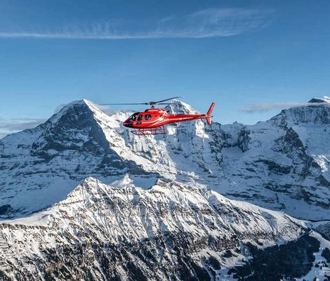 Helicopter sightseeing flight Lucerne