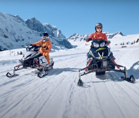 Snowmobile Titlis