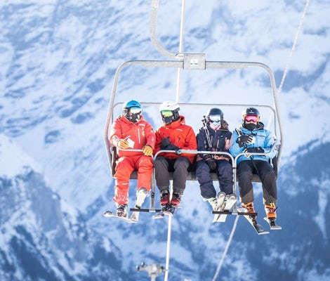 Ski course advanced Grindelwald