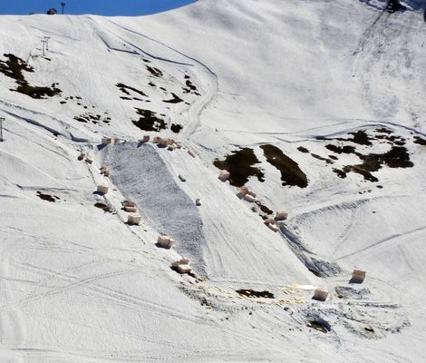 Snowfarming Adelboden Tschentenalp