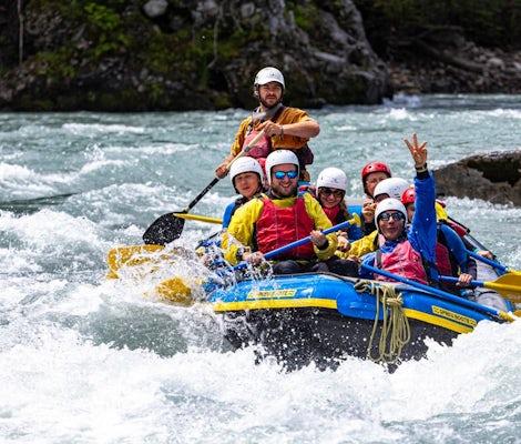 Rafting dans les gorges du Rhin