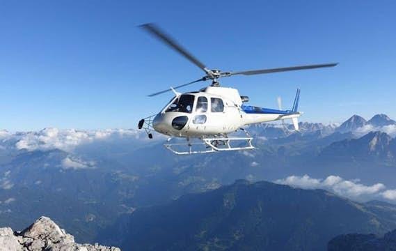 Vol en hélicoptère | Région de Berne