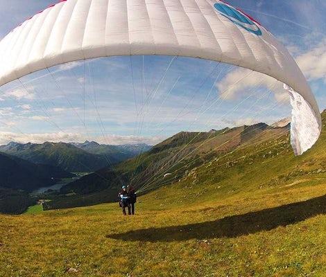 Parapendio Klosters