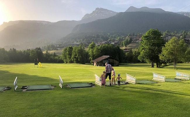 Golf Grindelwald | Spiele 9 Loch in den Alpen