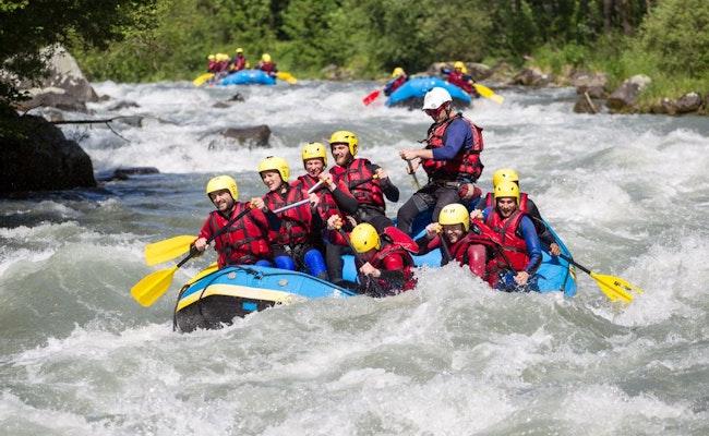 River Rafting und Grillen   6h Tagesausflug auf der Rhone, Wallis