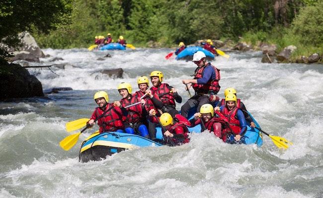 Rafting Vispa | Rafting auf dem Gletscherfluss des Matterhorns, Visp