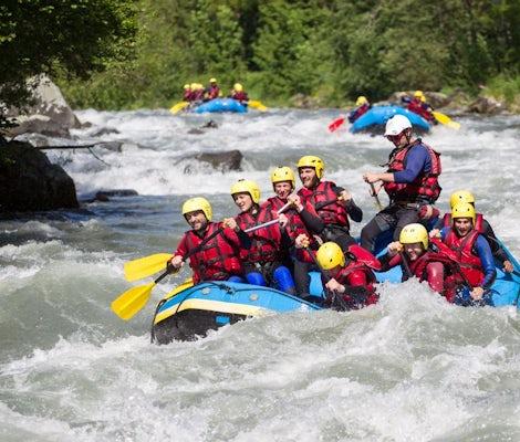 Rafting sul fiume Vispa