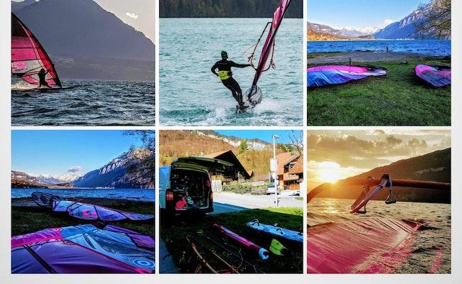 Windsurfen Interlaken | Schnuppertag auf dem Thuner- oder Brienzersee