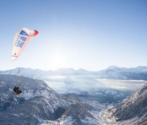 Vue de Rosswald Paragliding