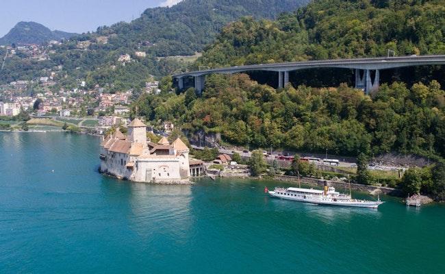 Schiffsrundfahrt auf dem Genfersee | Riviera Tour Montreux & Region