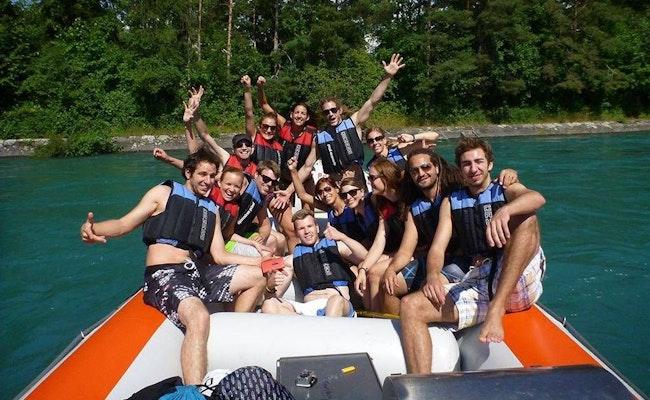 Aareböötle Thun nach Bern   Bis 14 Personen mit Privatboot