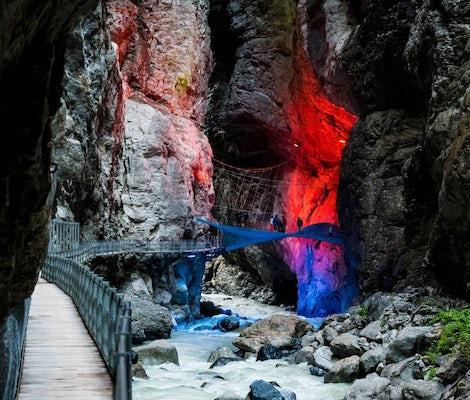 Glescher Gorge Grindelwald