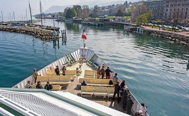 Schifffahrt Lausanne – Evian | Fahrt zur bekanntesten Wasserquelle