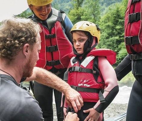 Familien Rafting Lütschine