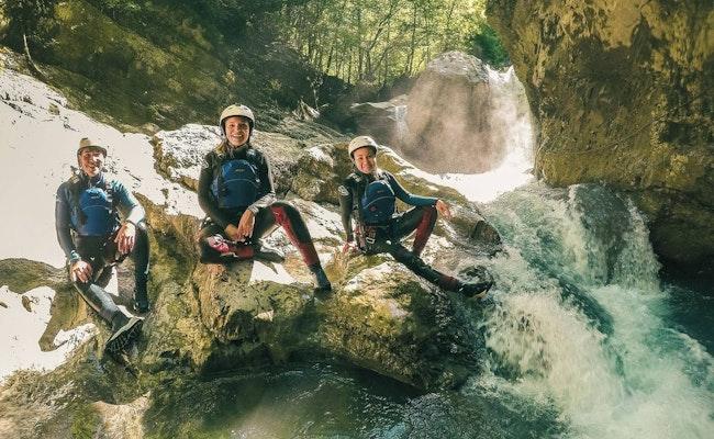 Canyoning Interlaken | Mache Deine ersten Sprünge beim Canyoning
