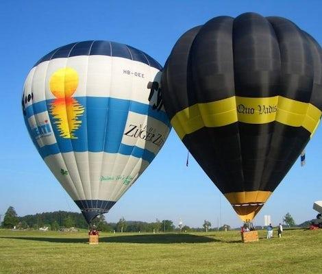 Ballonfahrt Heissluftballon