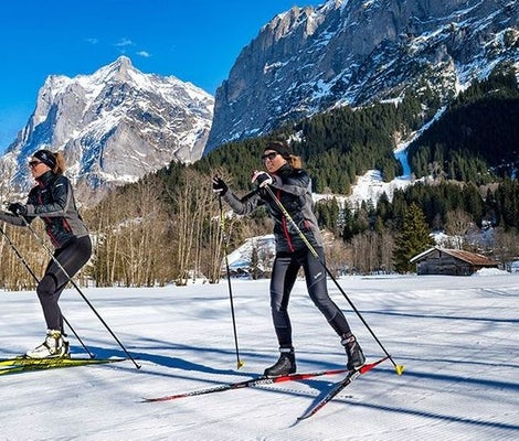 Cross country course Grindelwald