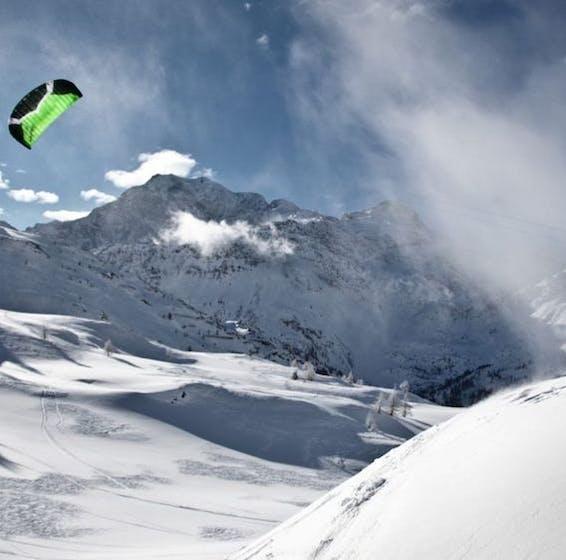 Snowkite Simplon