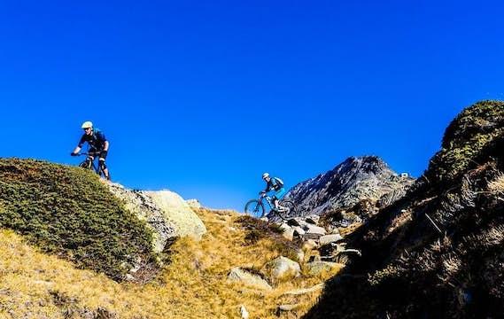 Vélo de montagne | Région de Grisons