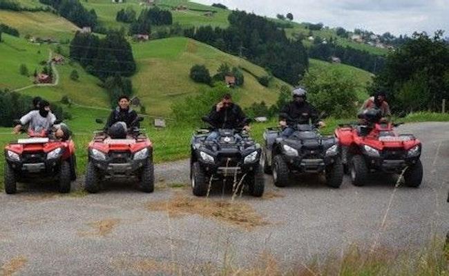 Quad-Tour am Bodensee   Schnuppertour für Einsteiger
