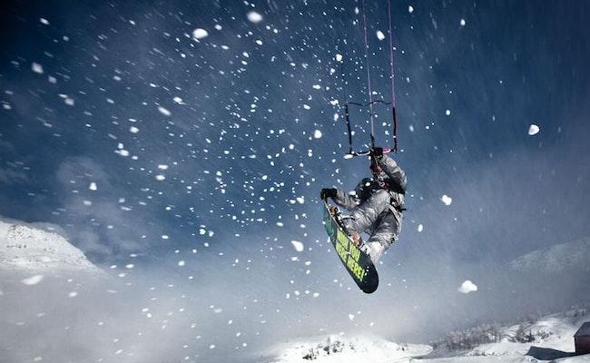 Trendsport Snowkiten   Privatkurs auf dem imposanten Simplonpass