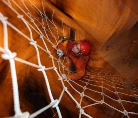 Spider Web Indoor Rope Park