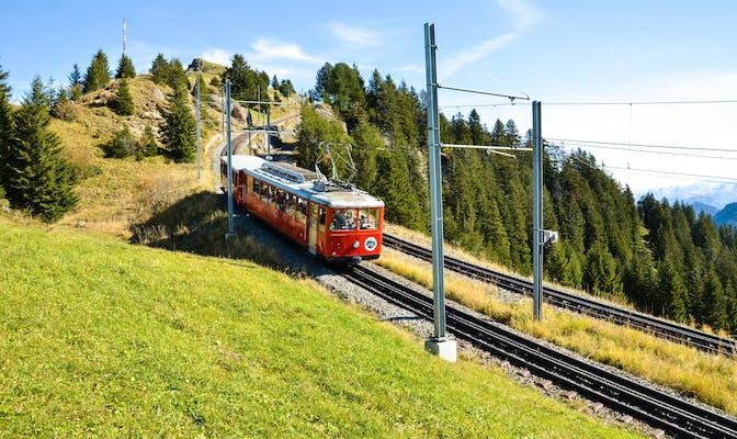 Rigi mountain railroad