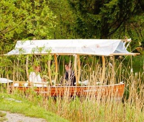 Cena in barca Lago di Trota Gstaad