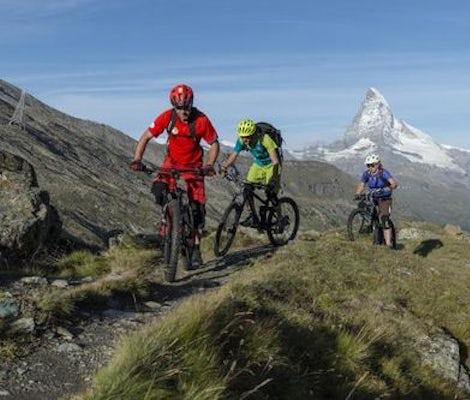 Ebike Kurs Trail Wallis Berge