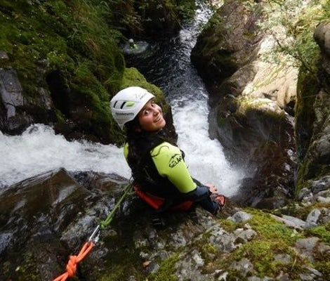 Trial tour beginners canyoning Val di Vira