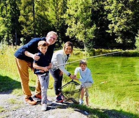 Pêche à la truite Lac Gstaad