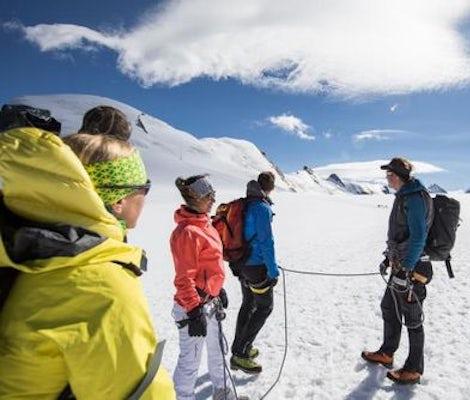 Cours de base de randonnée alpine et de randonnée en montagne Breithorn