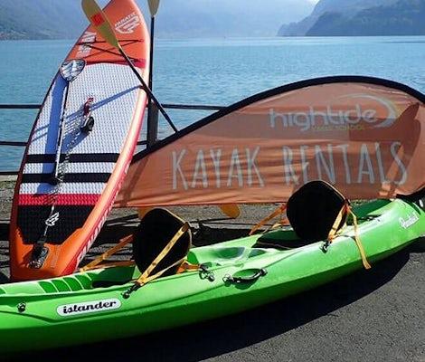 Tour in stand up paddle sul lago di Brienz