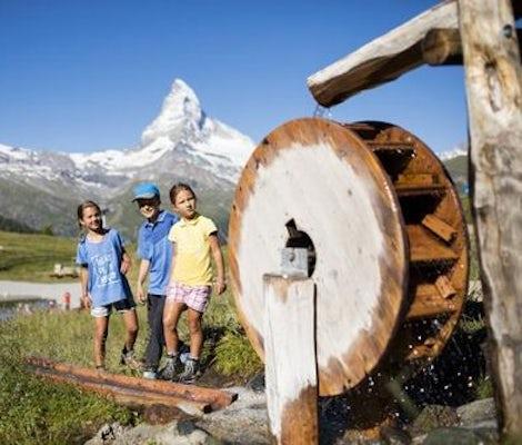 Camp pour enfants Zermatt