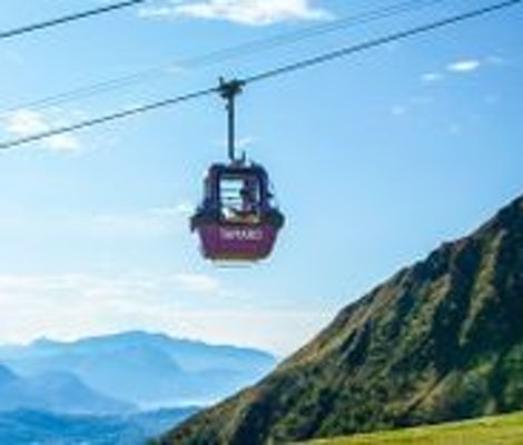Monte Tamaro cable car